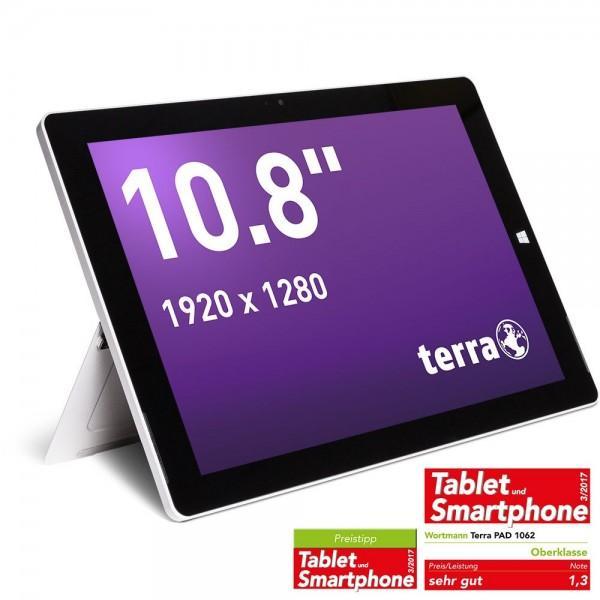 AG TERRA PAD 1062 x5-Z8350 64GB 3G Silber Tablet Bild1