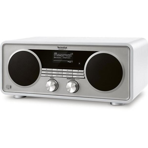 TechniSat DIGITRADIO  600 Internetradio (Spotify, WLAN, LAN, DAB+, DAB, UKW, CD-Player, Bluetooth), vorne, schräg