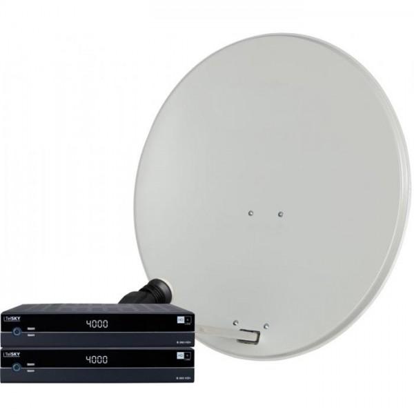 DIGIRAPID 80S, SKYTWIN HC LNB und 2 S 250 HD+