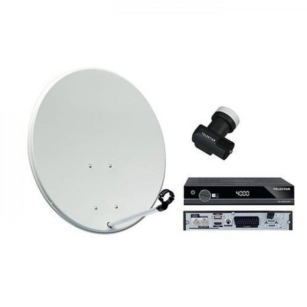 BASIC LINE 80, SKYSINGLE HC LNB und TD 2300 HD+