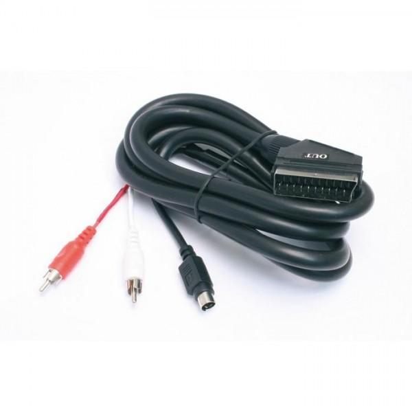 Scart-SVHS/Cinch Adapterkabel 2,0 m