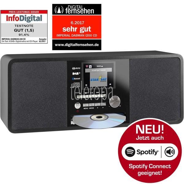 IMPERIAL DABMAN i200 CD Internet & DAB+ Stereo Radio Bild155