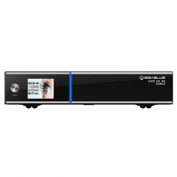 GigaBlue UHD UE 4K CABLE Linux Kabel Receiver (FBC DVB-C/C2 Tuner integriert, 1x CI, TFT-Farbdisplay, LAN, HDMI, 3x USB)