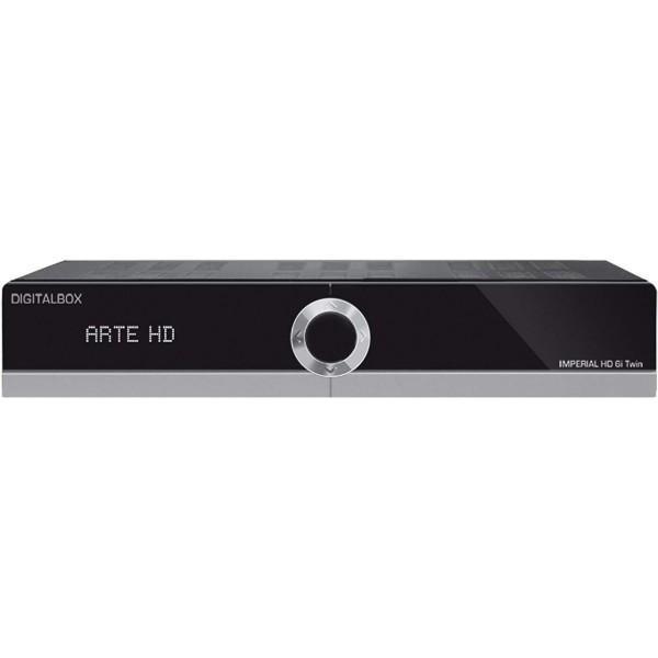 HD 6i Twin SAT Receiver mit Aufnahmefunktion gebraucht/generalüberholt Bild1
