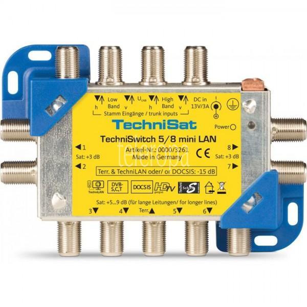 TechniSwitch 5/8 mini LAN