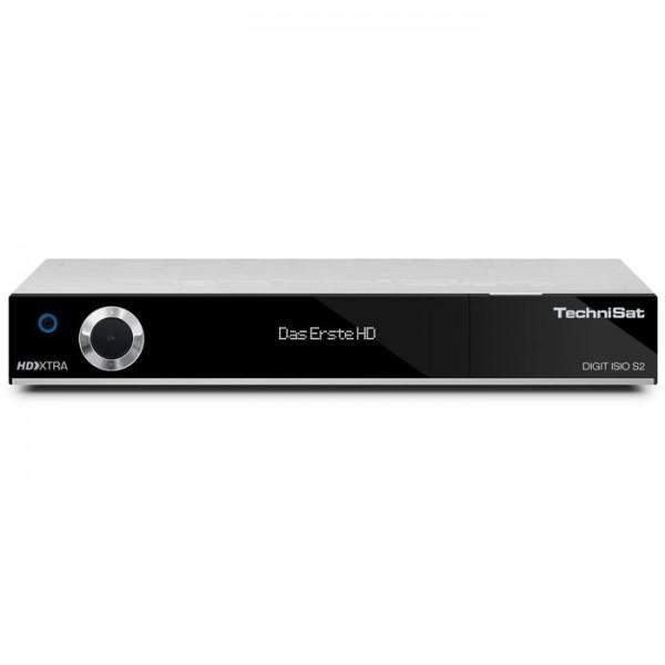 DIGIT ISIO S2 silber HDTV-DigitalSat-Receiver mit Twin-Tuner