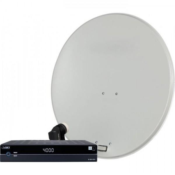 DIGIRAPID 80S, SKYSINGLE HC LNB und S 250 HD+