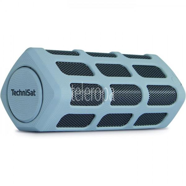 TechniSat BLUSPEAKER OD 300 grau Bluetooth-Lautsprecher mit Powerbank Bild 1