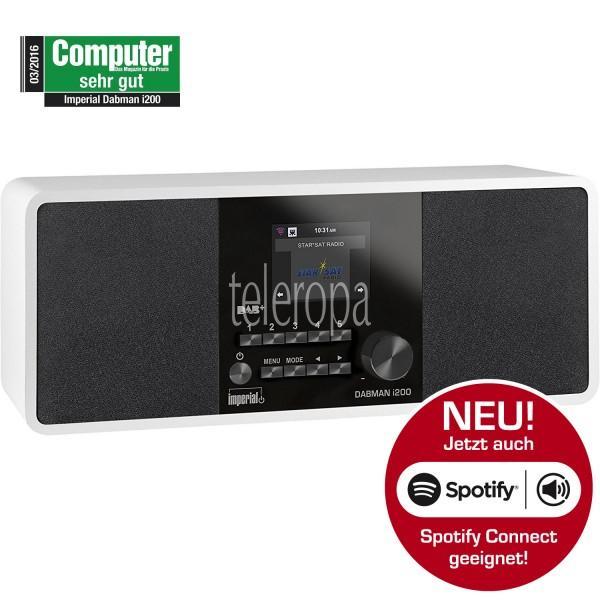 IMPERIAL DABMAN i200 Internet/DAB+ Radio (Stereo Sound, UKW, WLAN, LAN, Aux-In, Line-Out, Kopfhörer Ausgang inkl. Netzteil) (Zertifiziert und Generalüberholt) Bild22