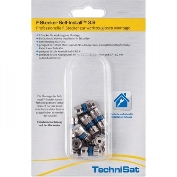 F-Stecker Self-Install™ 3.9, 10er Blister