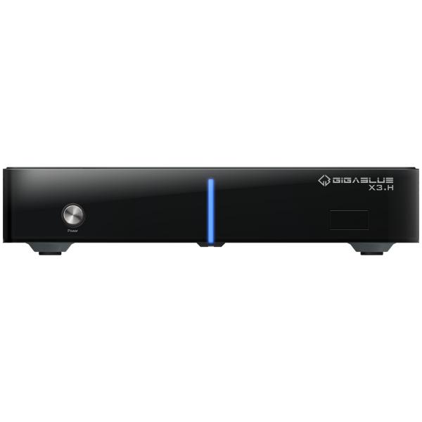 GigaBlue HD X3.H Single inkl. 1x DVB-S2 Tuner Linux HDTV Receiver Bild1