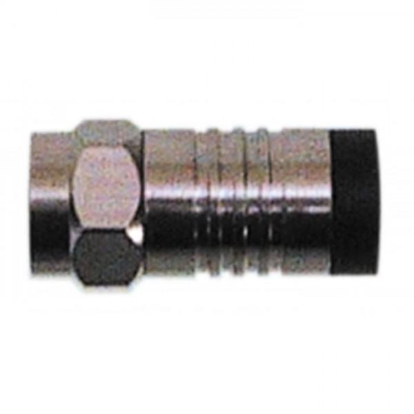 F-Kompressionsstecker für 8,2 mm Koax-Kabel