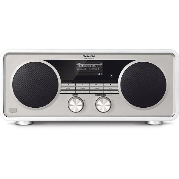 TechniSat DIGITRADIO 600 Internetradio (Spotify, WLAN, LAN, DAB+, DAB, UKW, CD-Player, Bluetooth), vorne