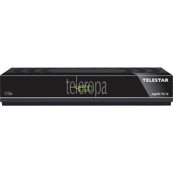 TELESTAR digiHD TS 12 HDTV-Satelliten Receiver (DVB-S, DVB-S2, PVR Ready, HDMI, Scart, USB) Bild 2
