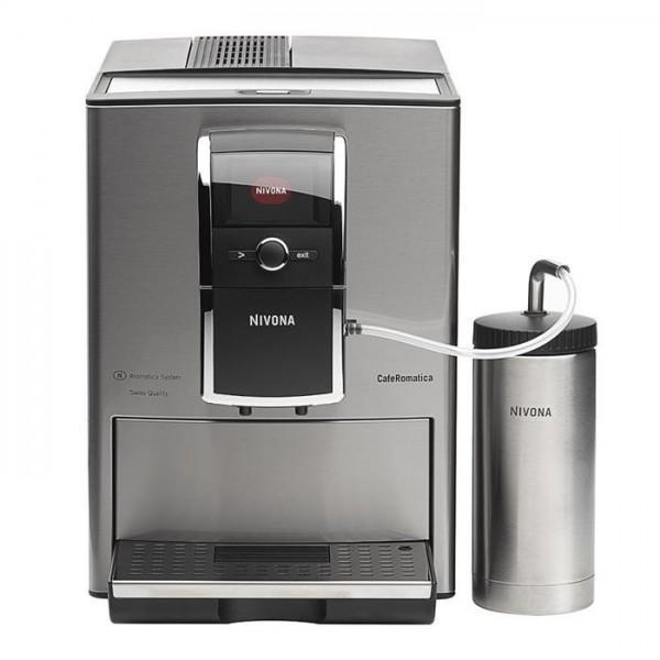 Nivona CafeRomatica 858 Kaffeevollautomat Edelstahl - Kaffee-Vollautomat Bild1