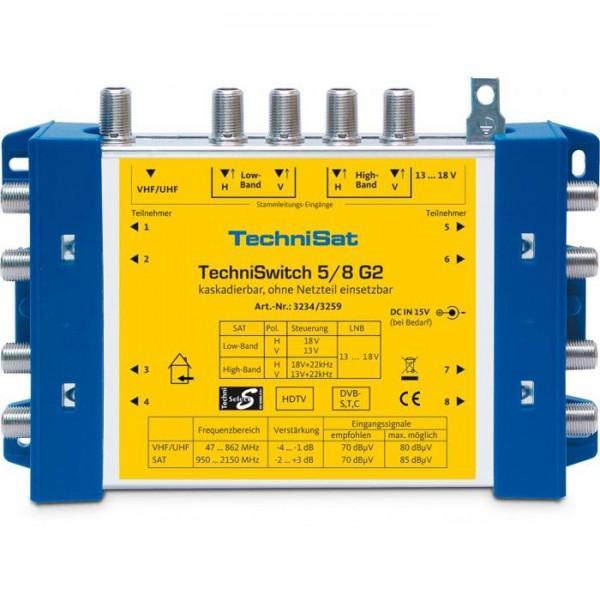 TechniSwitch 5/8 G2 DC-NT (Grundeinheit mit NT)