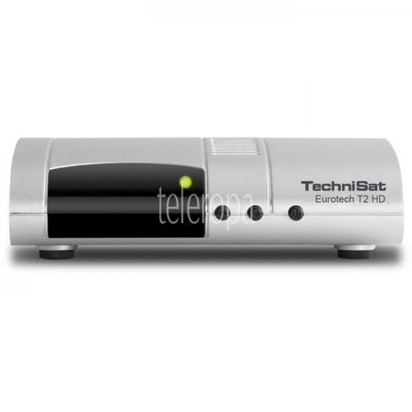 Eurotech T2 HD DVB-T2-Receiver mit Single-Tuner für Empfang in HD und Multimedia-Player