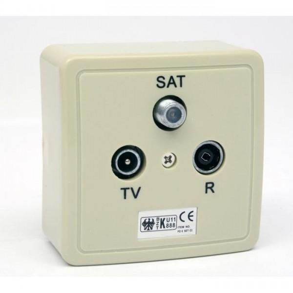 SAT-Antennendose 1,8dB (Band 1)