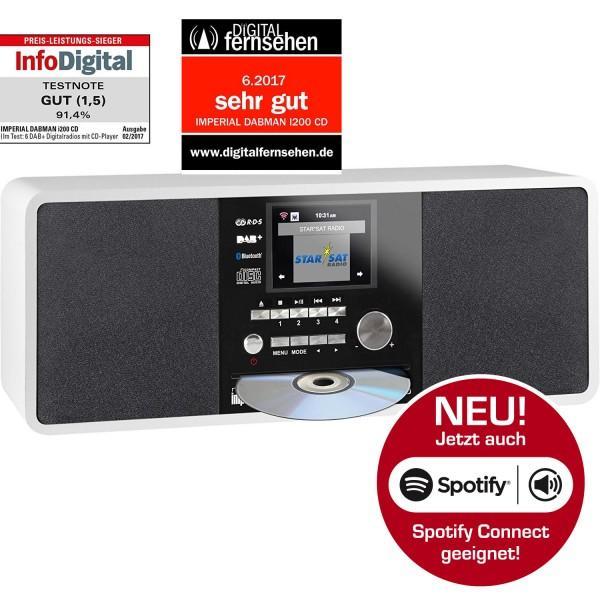 IMPERIAL DABMAN i200 CD Internet & DAB+ Stereo Radio Bild22