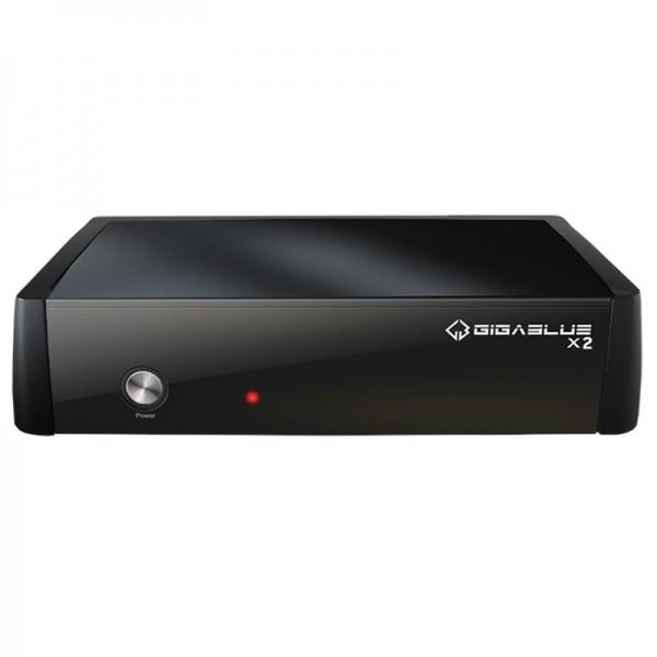 GigaBlue HD X2 Linux Full HDTV Receiver mit 512MB DDR3 RAM Bild2