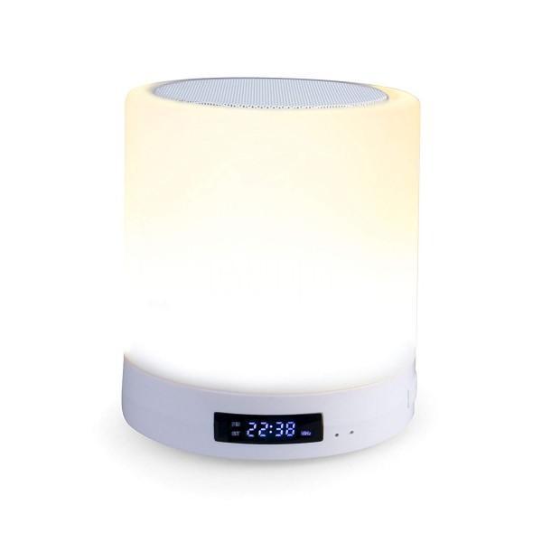 BTL 110 Bluetooth Lautsprecher mit UKW-PLL Radio, AUX IN, LED Ambiente Licht