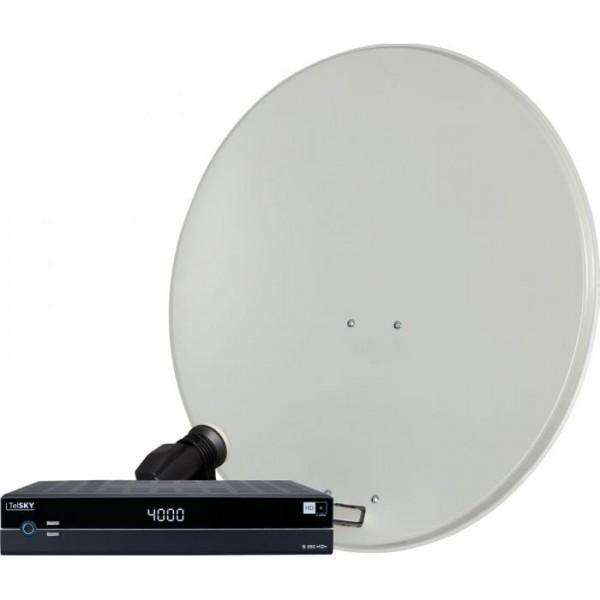 DIGIRAPID 80S, SKYQUAD HC LNB und S 250 HD+