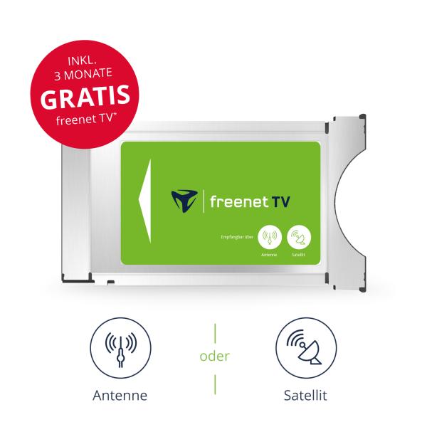 CI+ TV Modul von freenet TV für Antenne & Satellit inkl. 3 Monate gratis Bild2