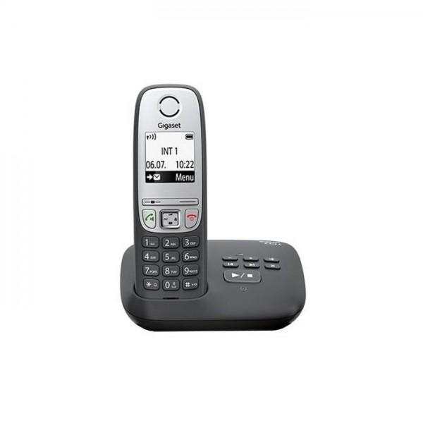 Gigaset A415A schwarz Schnurlostelefon mit Anrufbeantworter Bild1