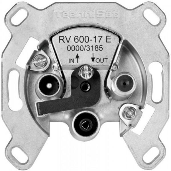 Durchgangsdose RV 600-17 E mit Überlastschutz und Sicherheitselektronik