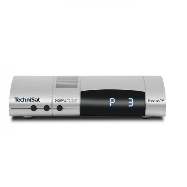 TechniSat DIGIPAL T2 DVR silber (DVB-T2-Receiver) Bild1