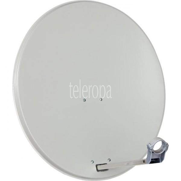 Satellitenschüssel 80 cm aus Aluminium beige / Sat-Antenne Bild1